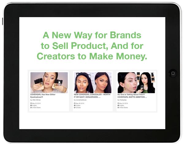 VideoAmigo's influencer marketing platform