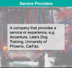 Description – Service Providers