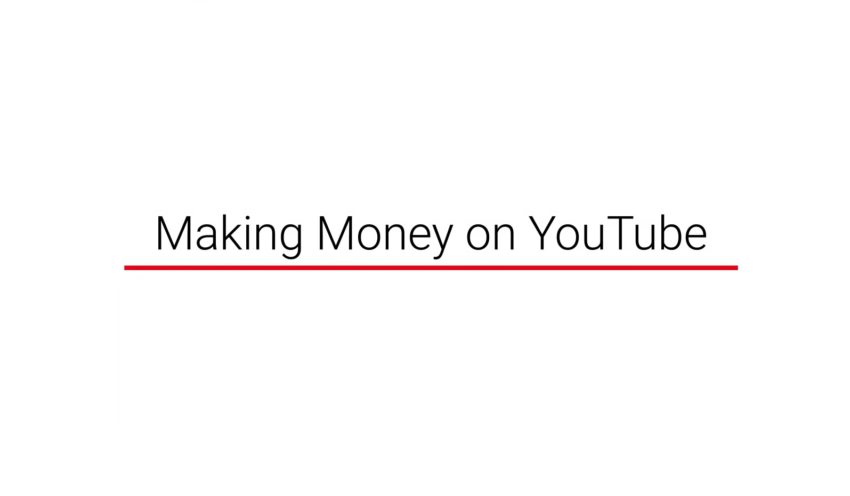 Making Money on YouTube